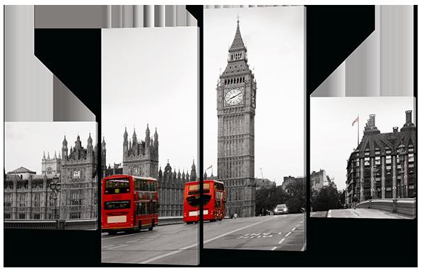 Модульная картина  Вестминстерский Дворец. Лондон
