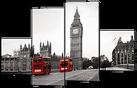 Модульная картина  Вестминстерский Дворец. Лондон 166*114  см