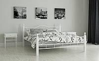 """Кровать металлическая на деревянных ножках """"Мадера"""" 90 х 200"""