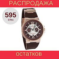 Наручные часы Ulysse Nardin Maxi Marine Chronograph Gold Brown, фото 1