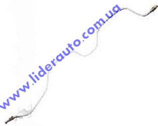 Трубка тормозная ВАЗ 2101-07 зад.прав. (метал) (пр-во г.Харьков)  2101-3506100