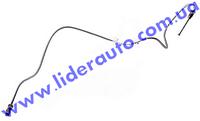 Трубка торм. ВАЗ 2108-09 зад.лев. (метал) (пр-во г.Харьков)  2108-3506110-10