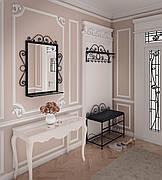 Комплект Дартмуд (Пуф+вешалка+Зеркало)