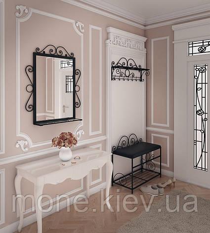 Комплект Дартмуд (Пуф+вешалка+Зеркало), фото 2