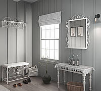 Комплект Хилтон (Пуф+вешалка+зеркало)