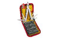 Topex Многофункциональный инструмент, набор 74 шт., держатель для сменных наконечников, головки, сменные након