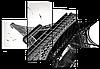 Модульная картина Эйфелева Башня, Париж