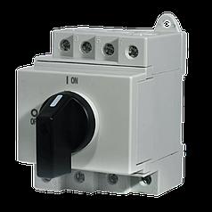 """Выключатель нагрузки ETI LS 16 SMA A2  2р """"1-0"""" 16A 1000V DC"""