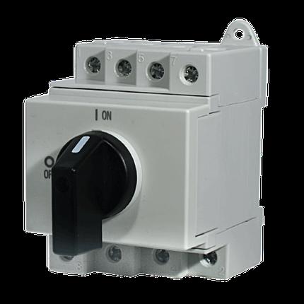 "Выключатель нагрузки ETI LS 25 SMA A2  2р ""1-0"" 25A 1000V DC, фото 2"