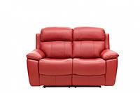 """Кожаный диван (двойка) с реклайнером """"Williams"""""""