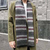 Нашивки и шеврон шаблон бахромой шарф Серый