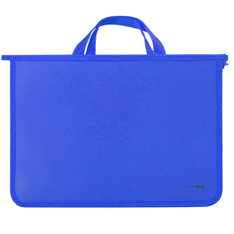 Портфель А4 Economix 2 отд. пластик на молнии 31630