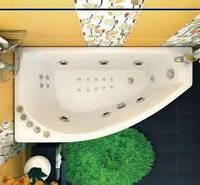 Акриловая ванна Бэлла левая Тритон