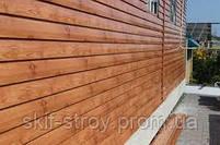Металлический сайдинг блок хаус (имитация бревна, сруба, бруса), фото 8