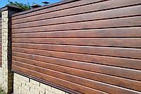 Металлический сайдинг блок хаус (имитация бревна, сруба, бруса), фото 9