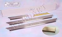Накладки на пороги NISSAN X-TRAIL II (T31) (2007-)