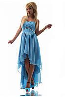 Вечернее шифоновое платье  (р. S,M,L)