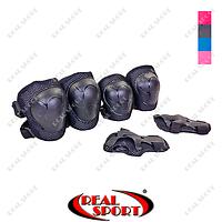Защита детская наколенники, налокотники, перчатки SK-6343-S (р-р S-3-7лет, цвета в ассорт)