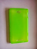 TPU чехол-накладка для Sony Xperia C C2305
