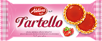Tartello Jelly Biscuit With Strawberry Flavoured