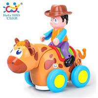 "Игрушка Huile Toys ""Ковбой на диком быке"" (838B)"