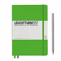 Блокнот Leuchtturm1917 Средний (A5) Свежий Зеленый в Точку (14,5х21 см) (357490), фото 1