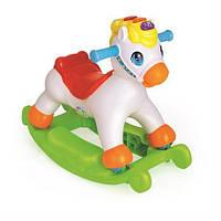 Качалка для детей Лошадка каталка Huile Toys Пони (987)