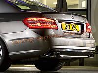Спойлер лип реплика AMG для Mercedes E W212 2009-2013