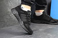 Кроссовки мужские Adidas Equipment (черные), ТОП-реплика, фото 1