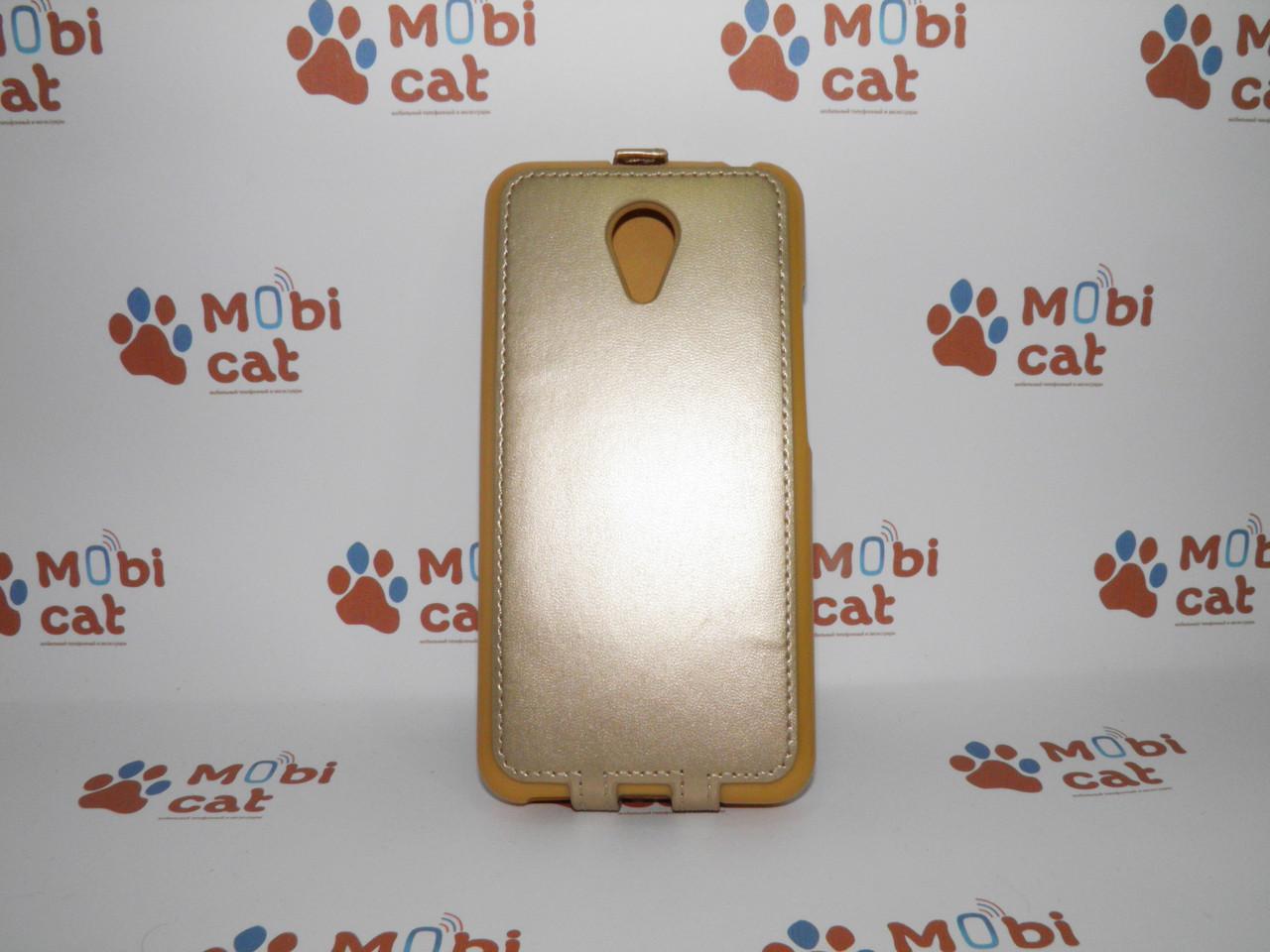 Чехол-книжка Flip Meizu M2 Note Gold