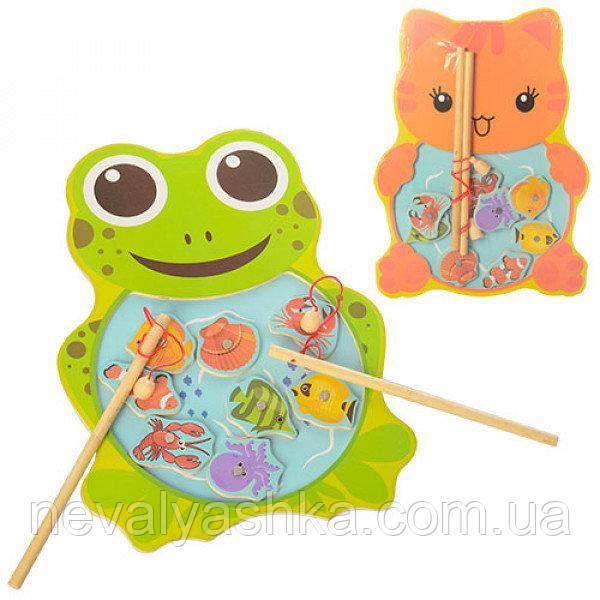 Деревянная игрушка Рыбалка магниная, MD 1034, 003679