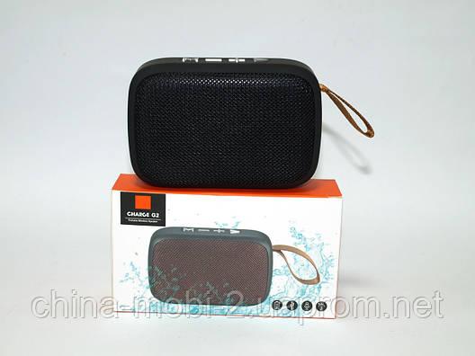 Беспроводная колонка копия JBL Charge G2 mini, FM/Bluetooth/MP3/USB/microSD, black, фото 2