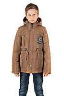 Демисезонная куртка-жилетка для мальчика 56