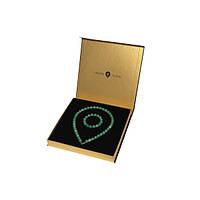 Комплект нефритовое ожерелье и браслет
