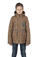 Детская кожаная куртка для мальчика купить