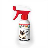 Спрей от блох и клещей для кошек RolfClub 3D (Рольф Клуб 3D) 200мл