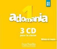 Adomania : Niveau 1 CD audio classe (x3)