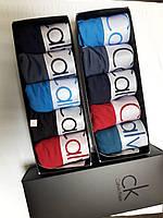 Набор мужских трусов Calvin Klein (реплика) боксеры  5шт