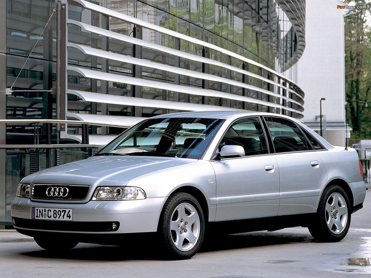 Лобовое стекло Audi A4 седан/ Avant с молдингом (1994-2001)