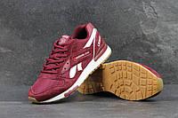 Мужские кроссовки Reebok  LX 8500 (бордовые), ТОП-реплика, фото 1