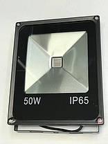 Светодиодный прожектор SL-50 50W желтый IP65 Код.59057, фото 3