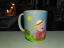 Чашка Свинка пепа