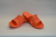 Шлепанцы женские оранжевые пена оптом Dreamstan
