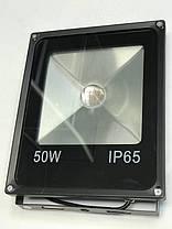 Светодиодный линзованый прожектор SL-50Lens 50W желтый IP65 Код.59054, фото 3