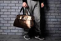 Прямоугольная спортивная сумка найк (Nike),эко-кожа реплика