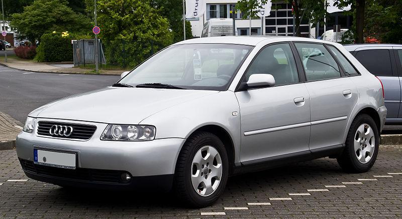 Лобовое стекло Audi  A3  (хетчбек) с молдингом (1996-2002)