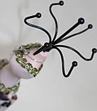 Вешалка настольная для украшений, бежевое платье, фото 3