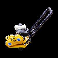 Виброплита бензиновая  Honker C50 (46 кг, 8.2 кН, 2,5 л.с.)