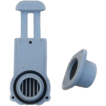 Зливний Клапан транцевый BRAVO, товщина транця 24-30 мм,  для надувних човнів ПВХ
