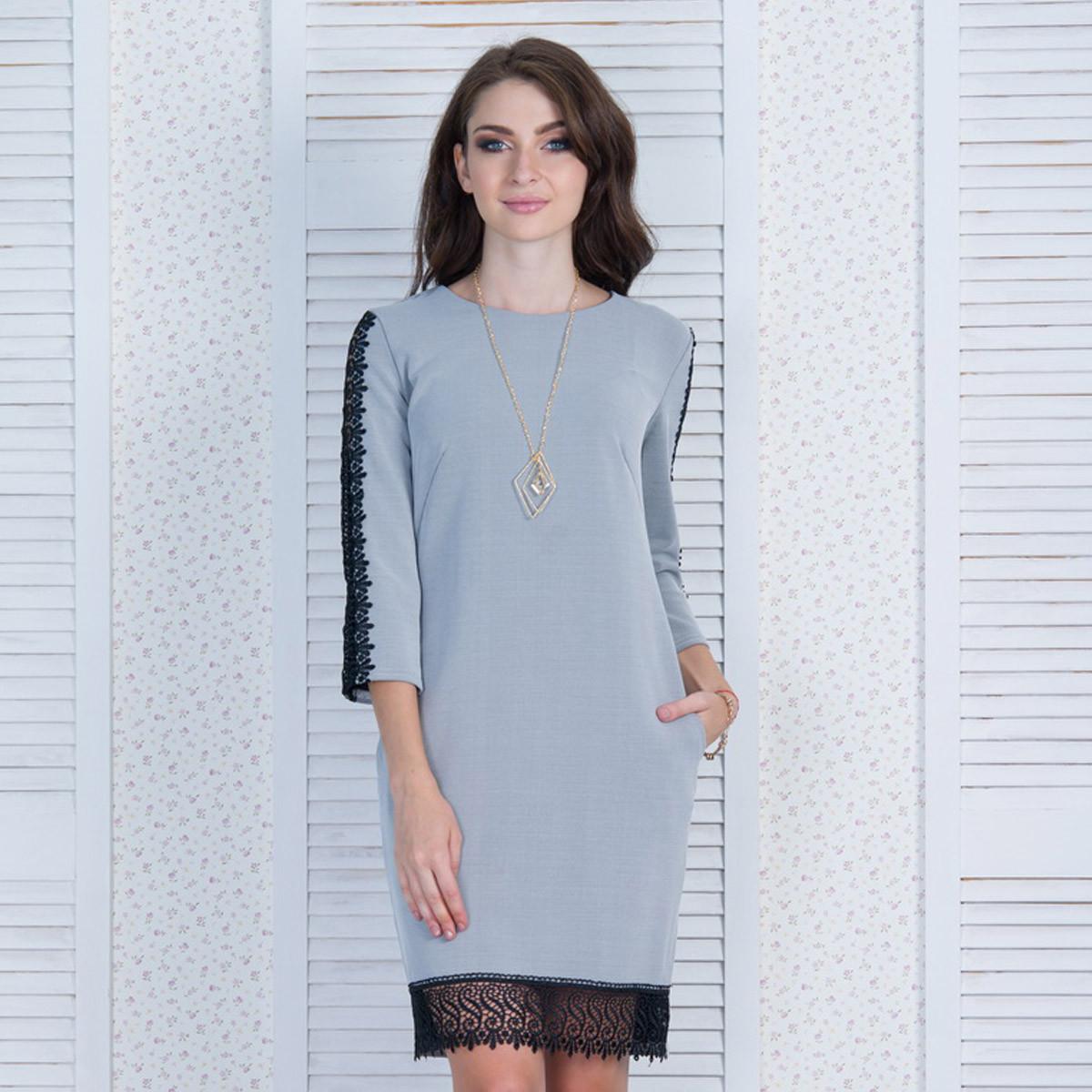 "Красивое демисезонное короткое платье размер S ""Сабина"""